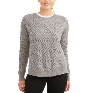 Time & Tru | Cable Sweater